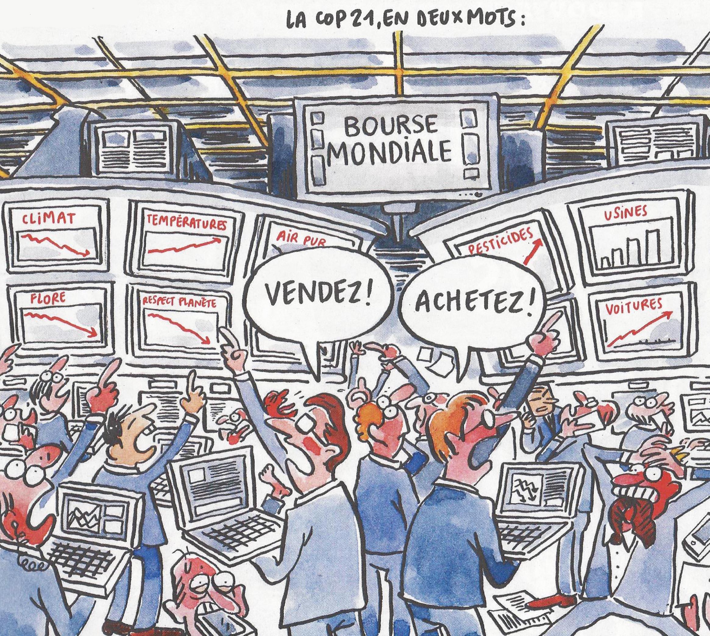 Charlie-151113-COP 21 Bourse-X