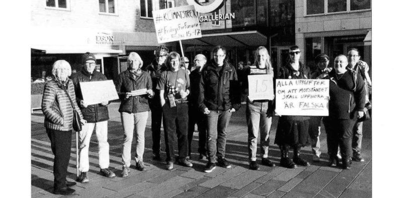 Greta Thunberg Wikipedia: Klimatstrejk I Uppsala